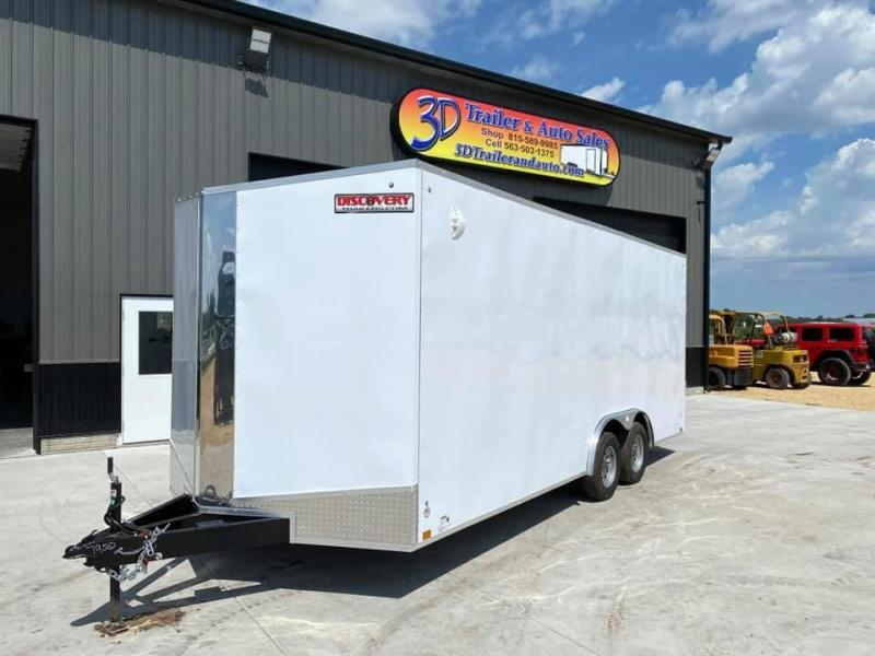 2021 Discovery 8.5' X 20' X 7' 7K CHALLENGER ET RAMP DOOR ENCLOSED CARGO TRAILER
