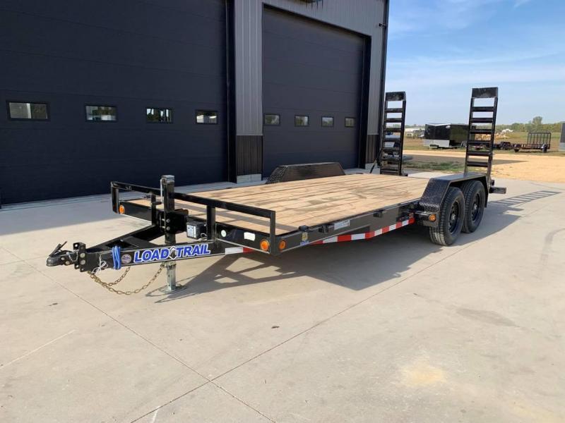 2022 Load Trail 18' 10K Loaded Equipment Trailer