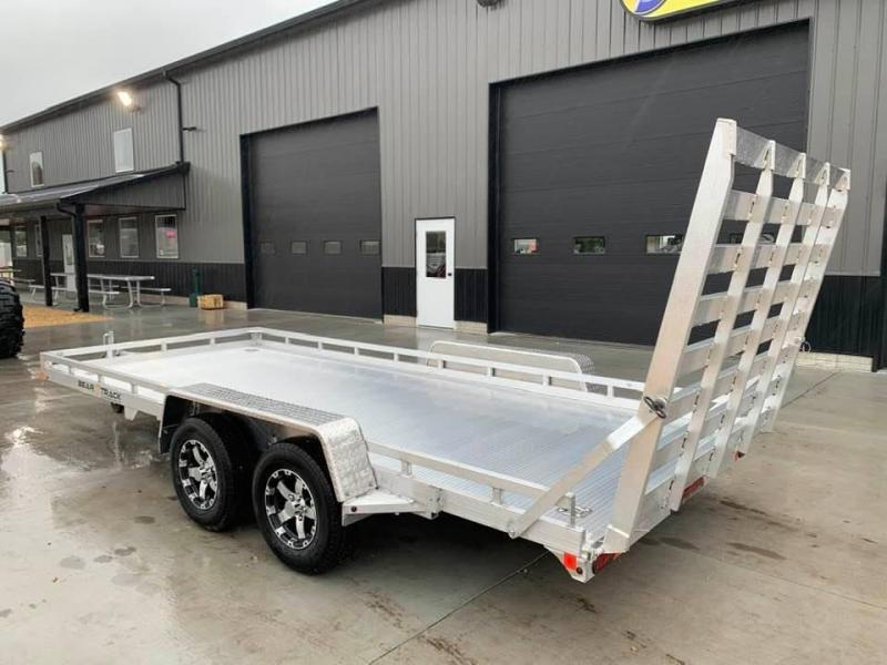 2021 Bear Track 81 X 16 7k All Aluminum HD Tandem Axle Utility Utility Trailer