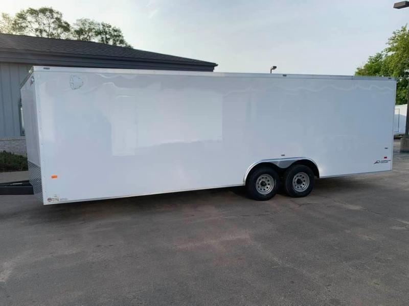 2021 AMERICAN HAULER 8.5' x 24' x 7' NIGHT HAWK 10K GVWR Race Car Enclosed Trailer