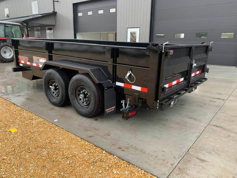 "2021 Midsota HV SERIES 82"" X 14' 15400LB GVWR VERSA DUMP BED TRAILER"