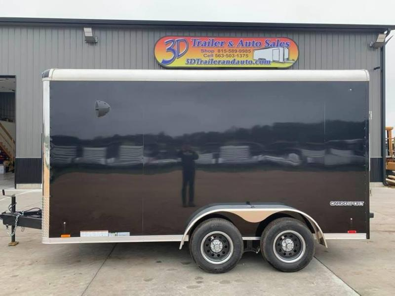 2021 Pace American 7' x 14' x 7' EXTRA TALL Cargo Sport PREMIUM Enclosed Trailer