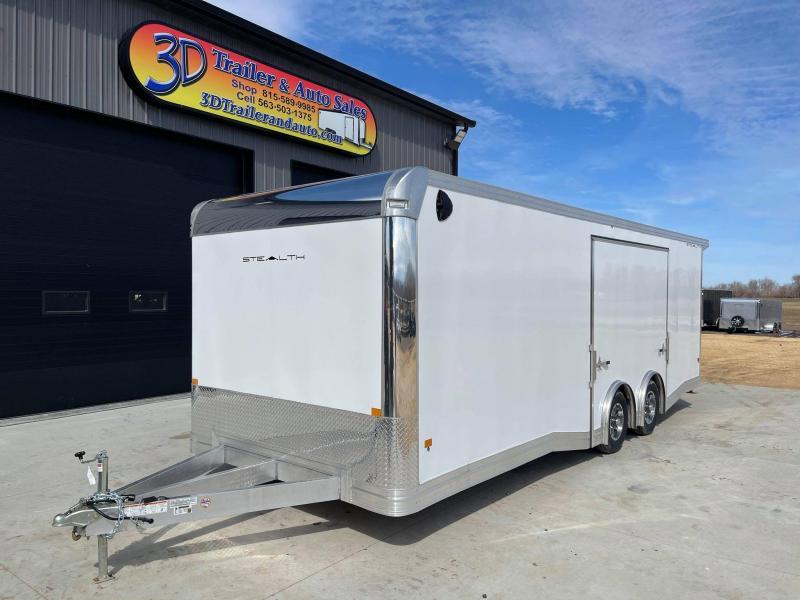 2021 Alcom-Stealth 8.5' X 24' X 7' 10K SUPREME CAR HAULER Car / Racing Trailer