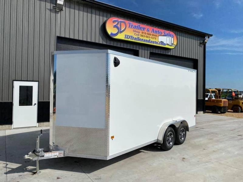 "2020 CARGO PRO 7.5' X 16' X 6'10"" Stealth Ramp Door Extra Tall Aluminum Enclosed Cargo Trailer"