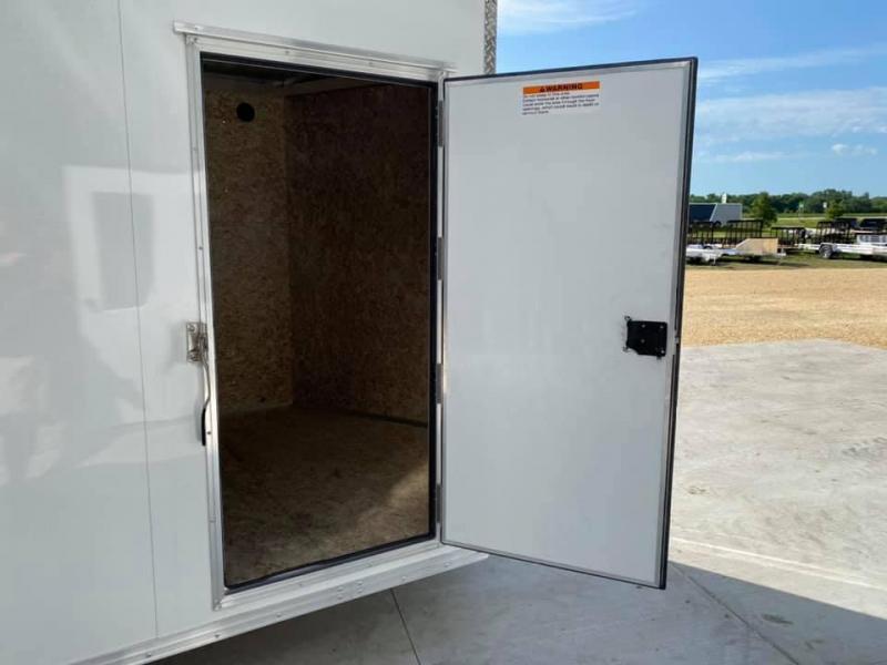 "2020 CARGO PRO 7.5' X 16' X 6'10"" Stealth Ramp Door Extra Tall Aluminum Enclosed Cargo Trailer"