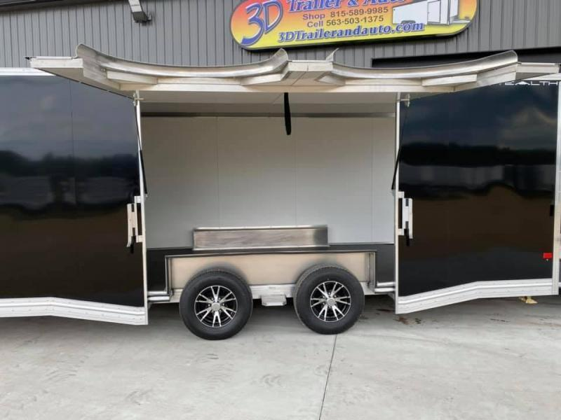 2022 Alcom-Stealth 8.5' X 24' X 7' 10K SUPREME CAR HAULER Car / Racing Trailer