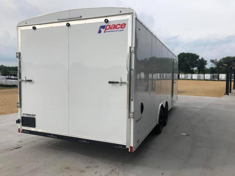 2022 Pace American 8.5' x 24' x 7' 10K GVW Cargo Sport Extra Tall PREMIUM Enclosed Trailer