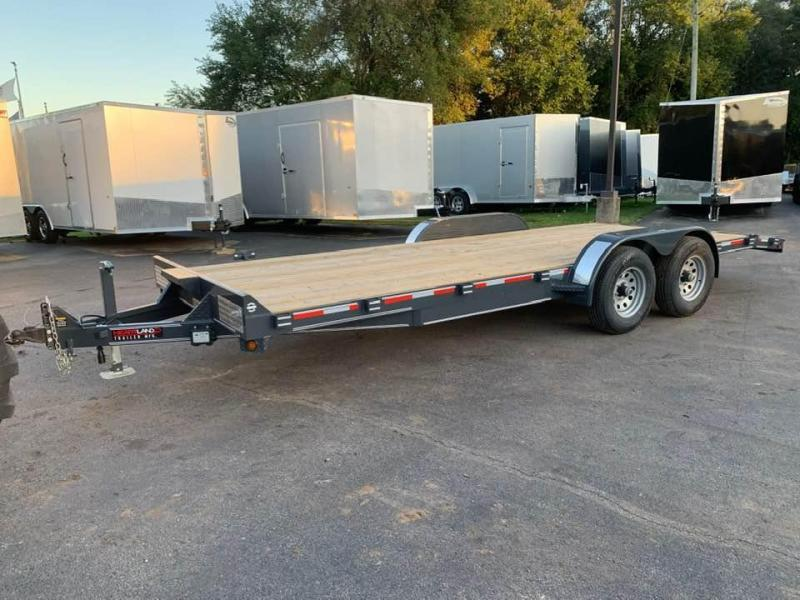 2020 Heartland 20' 10K GVWR Flat Bed Car Trailer