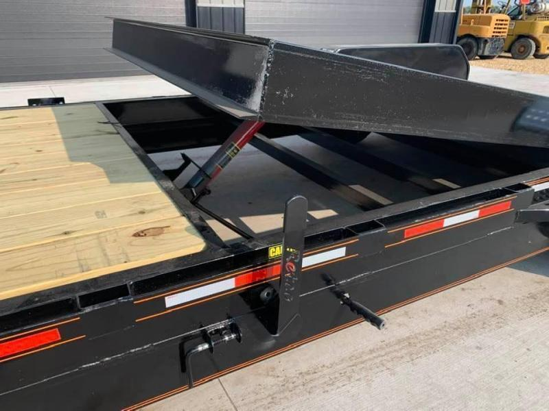 2022 Chase Trailers 24' 14K Split Deck Tilt Bed Equipment Trailer