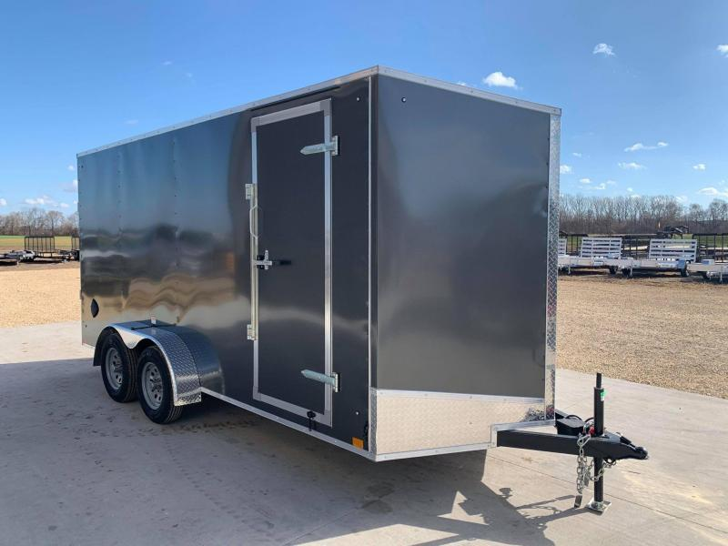 2021 Discovery 7' x 16' x 7' Rover ET Enclosed Trailer w/ Ramp