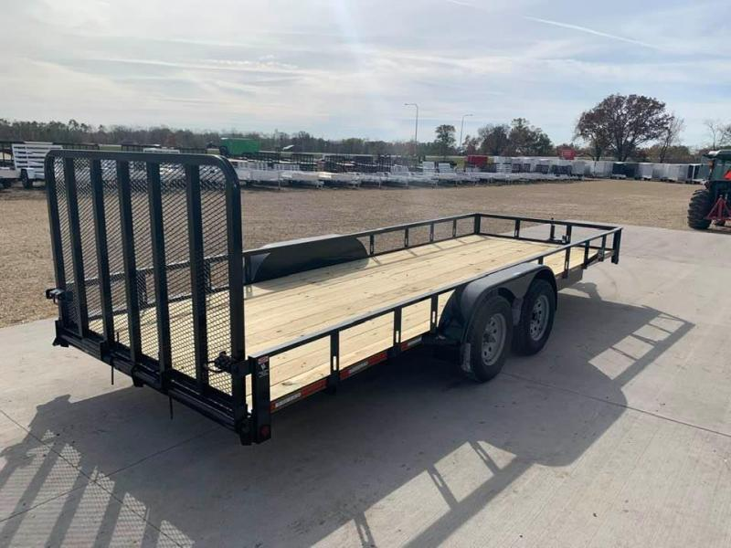 2021 Heartland 7' x 20' w/ 4' HD Spring Assisted Gate