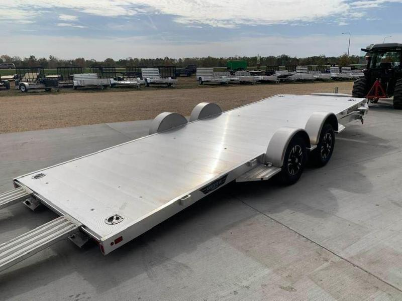 "2021 Aluma 82"" x 20' Tilt Bed Executive Series Aluminum Car Hauler"