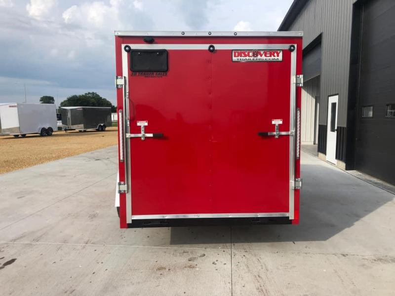 2021 Discovery Trailers 6' X 12' X 6' ROVER ET ENCLOSED CARGO TRAILER Enclosed Cargo Trailer
