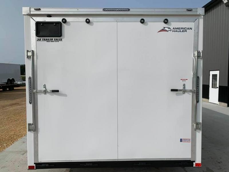2021 AMERICAN HAULER 8.5' x 20' x 7' NIGHT HAWK 10K GVWR Race Car Enclosed Trailer
