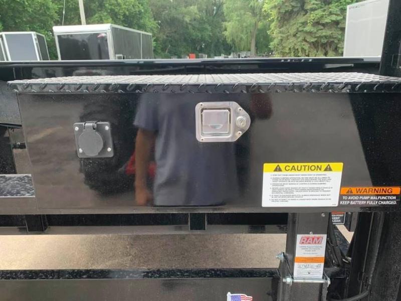 "2020 H & H 83"" x 16' 14k Gooseneck Dump Trailer"