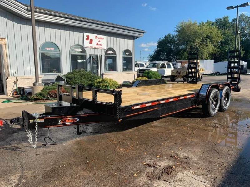 2020 Chase Trailers 20' 14K Equipment Trailer w/ Fold-Up Ramps