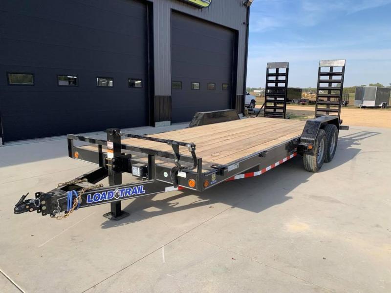 2022 Load Trail 20' 14K Loaded Equipment Trailer