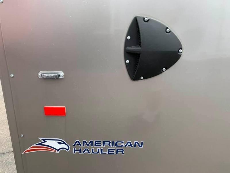 "2020 AMERICAN HAULER 8.5' x 18' x 6'6""' FALCON XC 10K GVWR Enclosed Trailer"