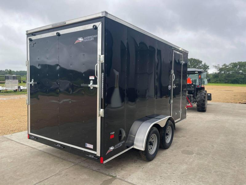 2022 American Hauler 7' x 14' x 7' 7k Arrow Deluxe UTV PACKAGE Enclosed Trailer
