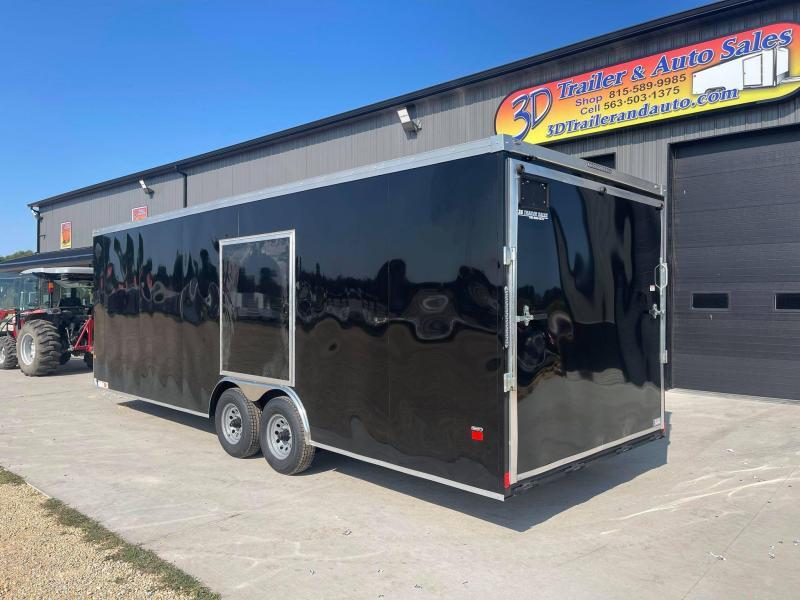 2022 AMERICAN HAULER 8.5' x 24' x 7' NIGHT HAWK 10K GVWR Race Car Enclosed Trailer