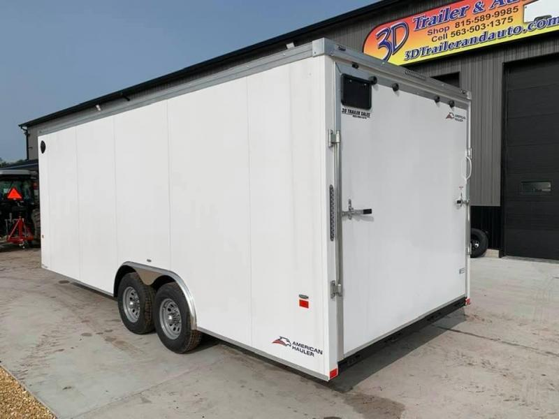 2021 AMERICAN HAULER 8.5' x 20' x 7' NIGHT HAWK 10K GVWR Race Car Enclosed Trailer
