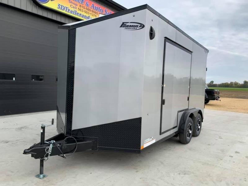 2021 Formula Trailers 7.5' x 14' x 7'3 Triumph UTV Enclosed Trailer