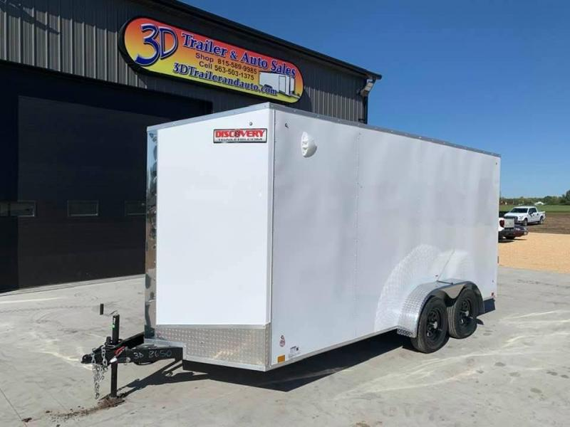 2022 Discovery 7' x 16' x 7' Rover ET Enclosed Trailer w/ Ramp
