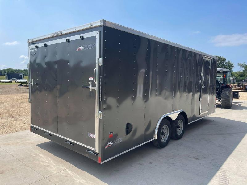 2021 AMERICAN HAULER 8.5' x 20' x 6'6 ARROW 7K GVWR Enclosed Trailer