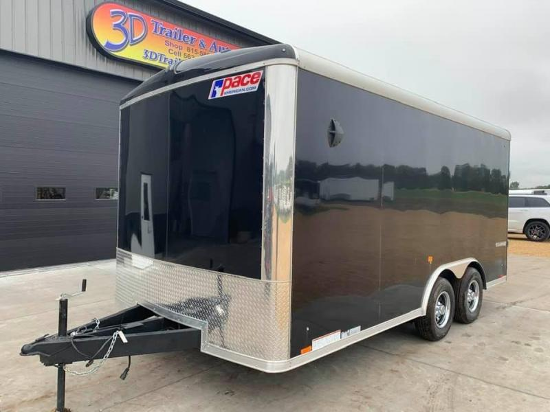 2021 Pace American 8.5' x 16' x 7' 10K GVW Cargo Sport Extra Tall PREMIUM Enclosed Trailer