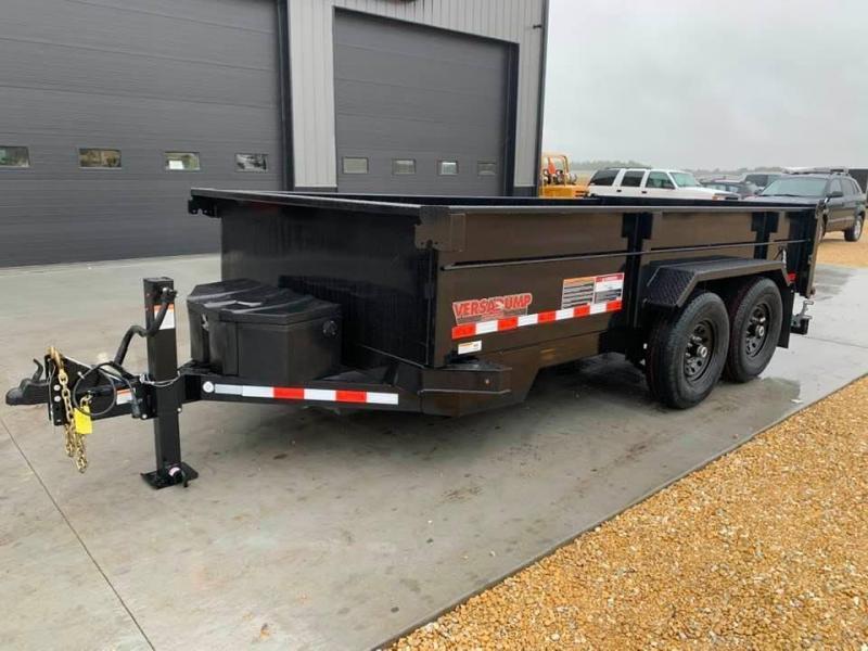 "2021 Midsota HV SERIES 82"" X 14' 15400LB GVWR VERSA DUMP BED TRAILER"