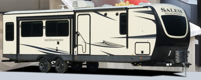 2022 Forest River Salem Hemisphere 270FKS Travel Trailer RV