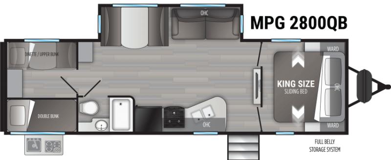 2022 Cruiser RV Shadow Cruiser Ultra Lite 2800QB Travel Trailer RV