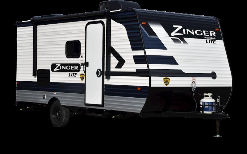 2021 CrossRoads RV Zinger Lite ZR18RK Travel Trailer RV