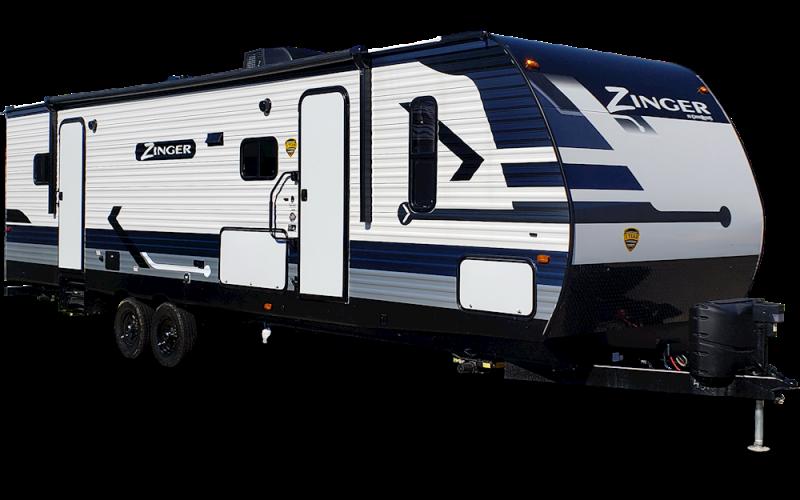 2021 CrossRoads RV Zinger ZR331BH Travel Trailer RV