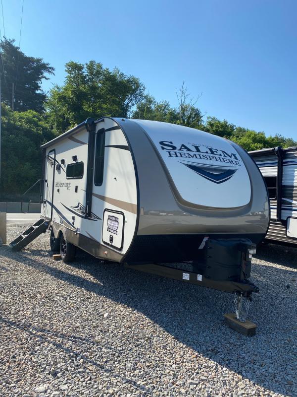 2021 Forest River Salem Hemisphere Hyper-Lyte 19RBHL Travel Trailer RV