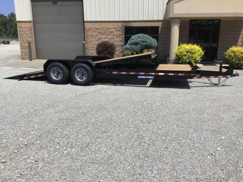 2021 Sure-Trac 82 x 18+4 Tilt Bed Equipment 14K Equipment Trailer