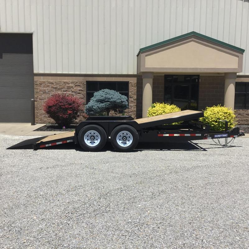 2021 Sure-Trac 7 x 18 Tilt Bed Equipment Trailer