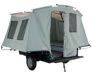 2021 Jumping Jack 6' X 8' BLACKOUT TRAILER W/ 8' TENT