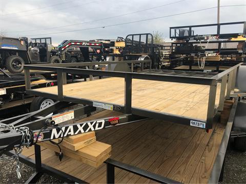 2020 MAXXD 83 x 12 SA Utility Trailer