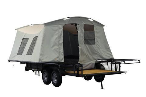 2021 Jumping Jack 6' X 17' BLACKOUT TRAILER W/ 12' TENT