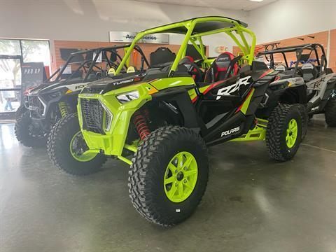 2021 Polaris RZR Turbo S Lifted Lime LE