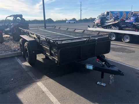 2020 Jumping Jack Trailers 6 X 12 BLACKOUT TRAILER W/ 12' TENT