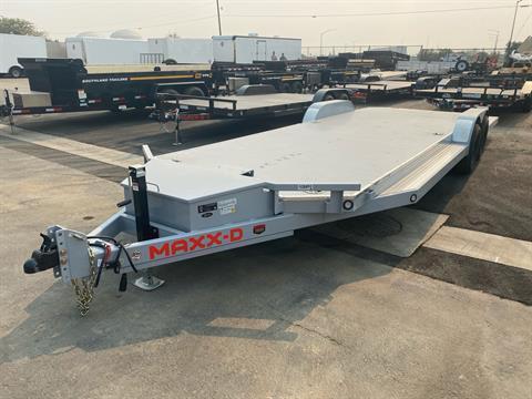 "2021 MAXXD TRAILERS 24' X 83"" 10K TUBING CARHAULER"
