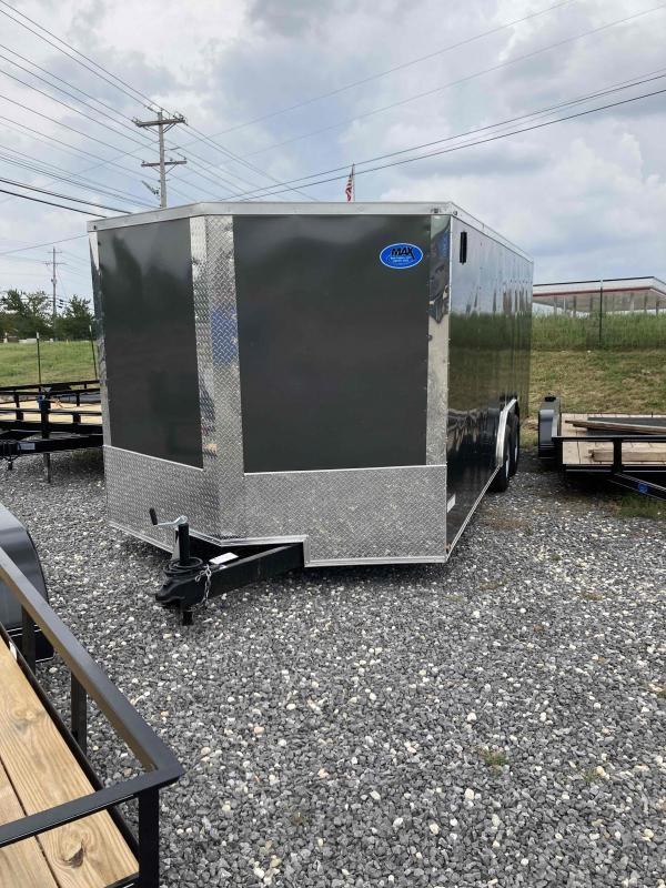 2022 Max Built 8.5x20 cargo 10k Enclosed Cargo Trailer