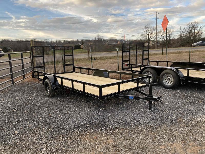 2021 6.5x14 utility trailer