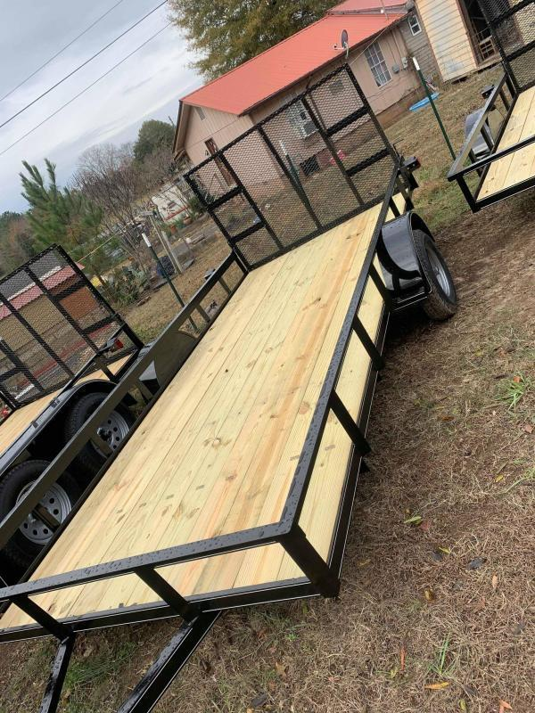2021 Max Built 6.5x10afg Utility Trailer