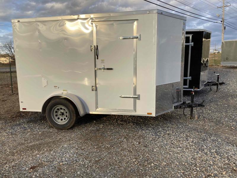 2021 Max Built enclosed single axle Enclosed Cargo Trailer