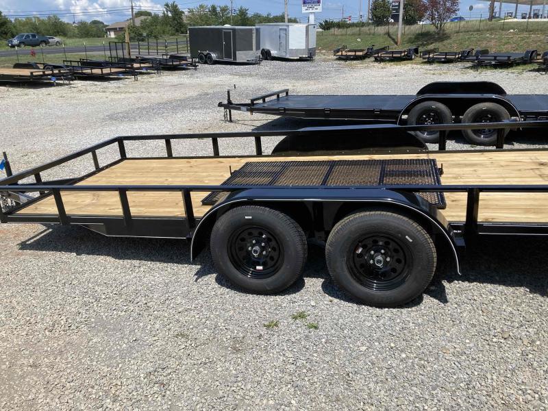 new 76x16 utility trailer