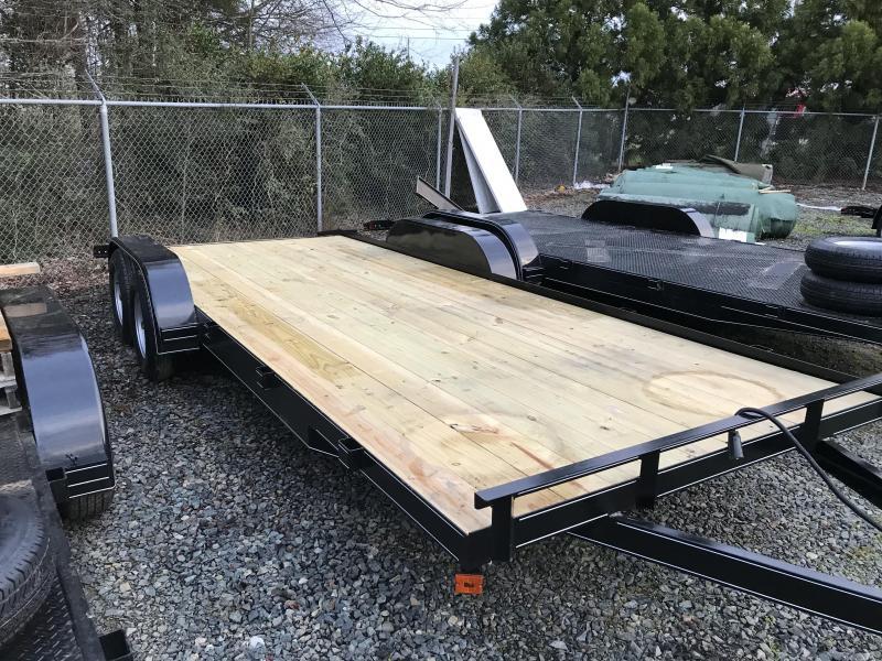 2021 Max Built 82X20 WOOD DECK Car / Racing Trailer