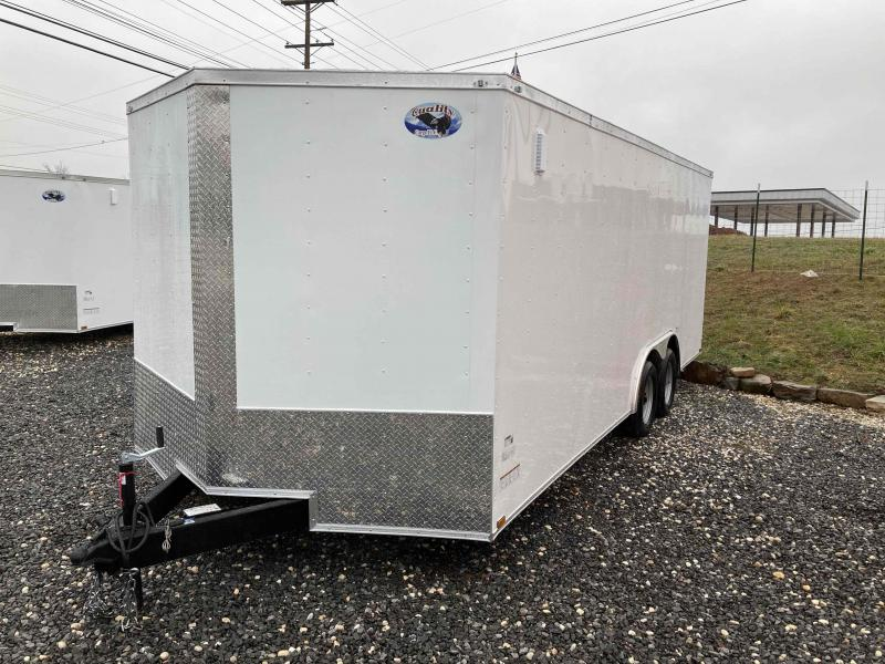 2021 Max Built enclosed 8.5x20 Enclosed Cargo Trailer